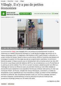 Villegly. Il n y a pas de petites économies   08 03 2012   ladepeche.fr